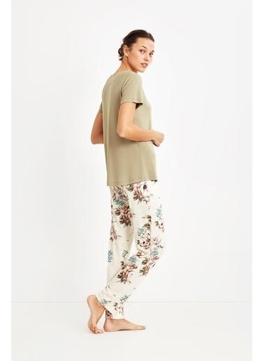 Penye Mood 9028 Pijama Takım Yeşil